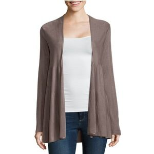NWT Liz Claiborne Long Sleeve Open Front Cardigan